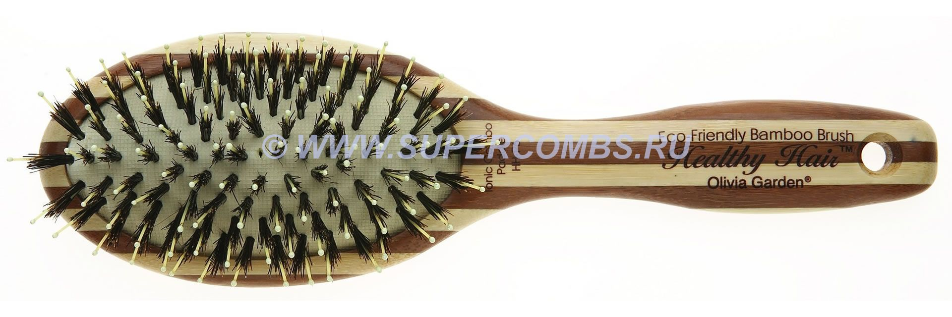 Щётка для волос Olivia Garden Healthy Hair Ionic Combo Paddle