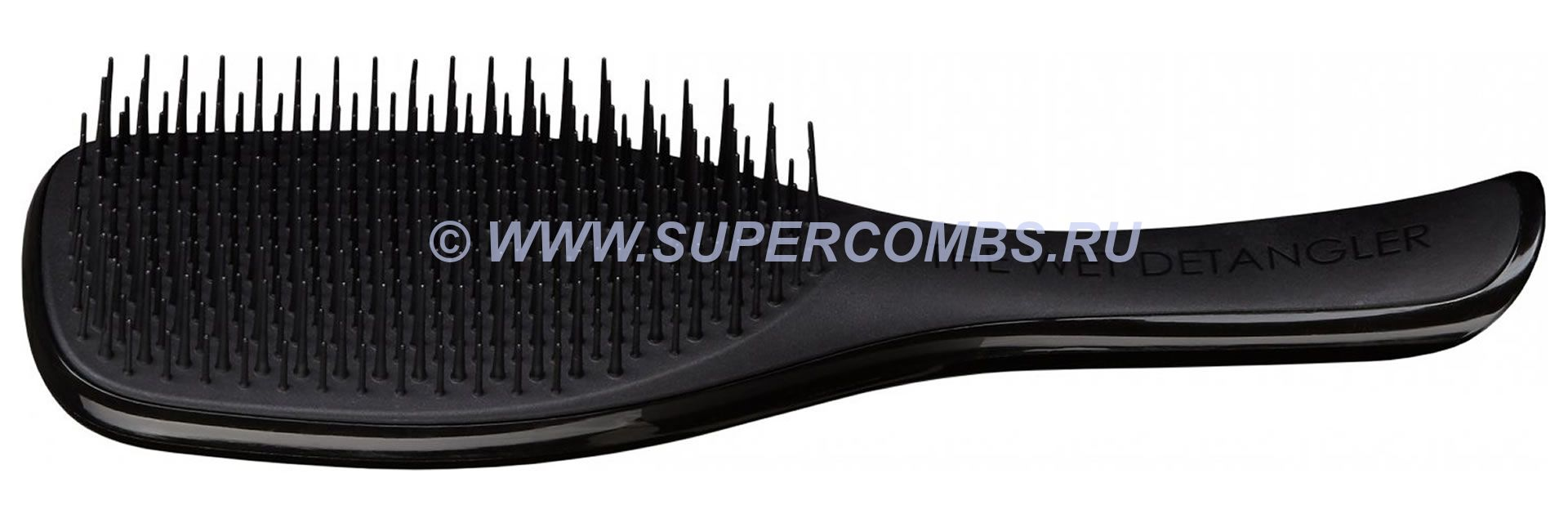 Щётка Tangle Teezer The Wet Detangler Midnight Black, чёрная