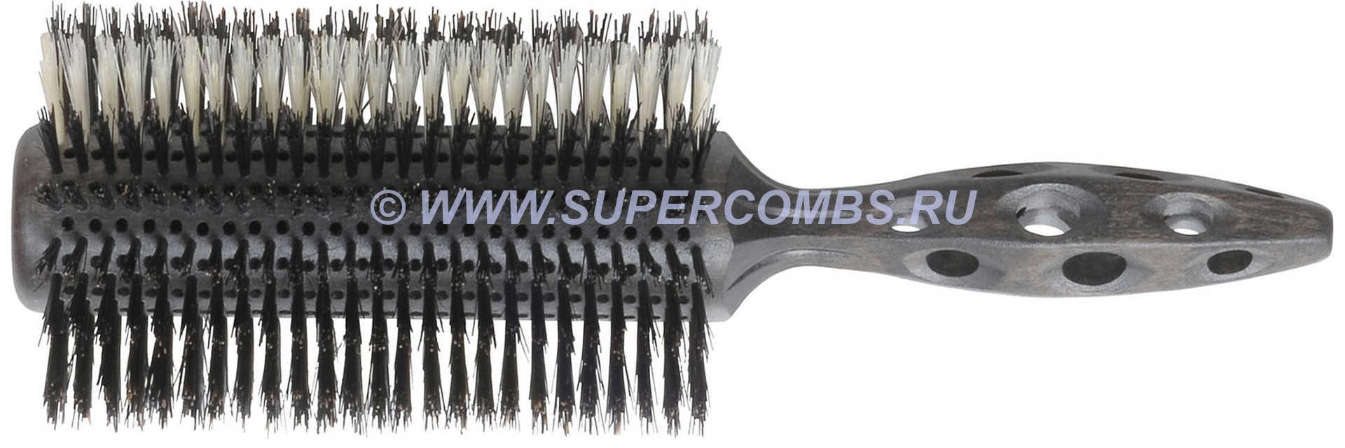 Брашинг Y.S.Park 120EL1 Extra Long Styler Big Oval, 85 х 75 мм, boar