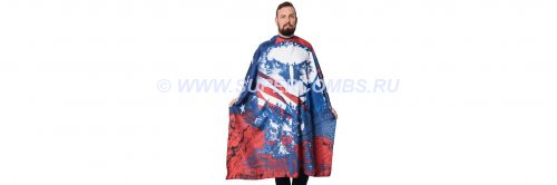 Пеньюар на кнопках Betty Dain THE 1776 - Americape Styling Cape