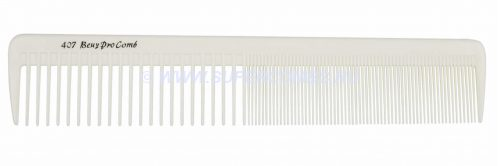 Расчёска для стрижки Beuy Pro 407 Hair Clipping Comb, белая, гибкая