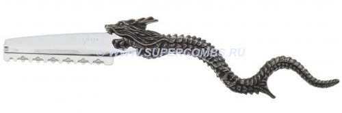 Бритва Дракон Y.S.Park Dragon Razor Antique Silver, античное серебро
