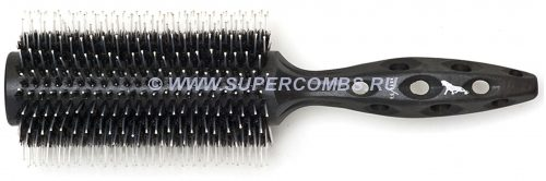 Брашинг Y.S.Park Tiger Brush 680, Black Carbon, нат.щетина+нейлон, 77 мм