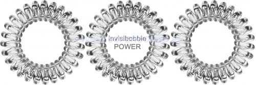 Резинки для волос Invisibobble POWER Crystal Clear
