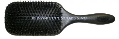 Щётка для волос Denman D83BOAR Paddle Hairbrush Natural Boar Bristle, с натуральной щетиной