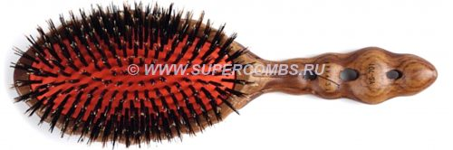 Щётка Y.S.Park 701 Luster Wood Styler Brush, 13 рядов